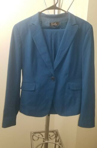 womens size 12 turquoise pant suit