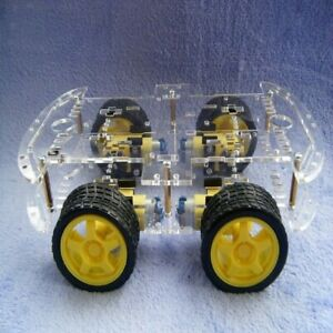 Intelligent Tracing Smart Car Chassis Kit Trace Intelligent Track Line Car