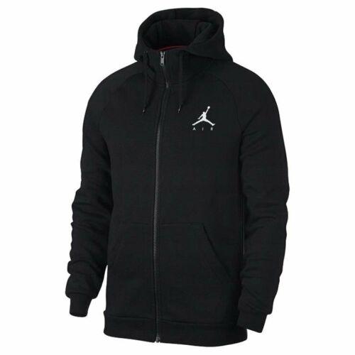 NIKE Jordan Jumpman Fleece FZ 939998-010 Herren Schwarz Kapuzenpullover Hoodie