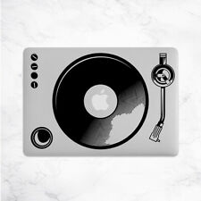 Turntable Decal for Macbook Pro Sticker Vinyl Laptop Mac Notebook Skin DJ Music