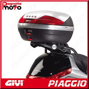 ATTACCO POSTERIORE SPECIFICO PER BAULETTO MONOKEY PIAGGIO X EVO 400 2007>2011
