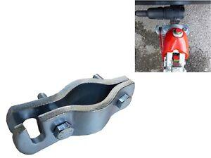 2x Halter für Abreißseil Anhänger Sicherungsseil Bremsseil Wohnwagen Abreisseil