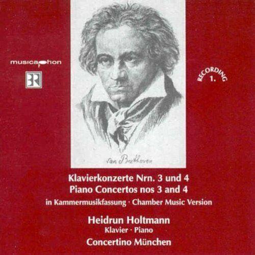 Beethoven Klavierkonzerte Nr. 3 & 4, opp. 37, 58 (Musicaphon, 2005).. [CD]