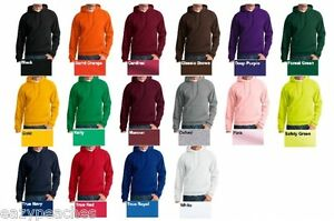 Peaches-Pick-Mens-S-L-XL-2XL-3XL-NuBlend-1-4-Zip-Hooded-Sweatshirt-Hoodie-Jumper