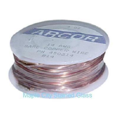 Free Shipping Stained Glass Supplies-COPPER WIRE 18G