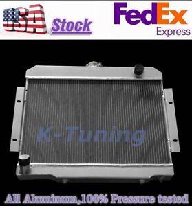 3 ROW ALUMINUM RACING RADIATOR For JEEP CJ CJ5//CJ6//CJ7 72-86 73 74 75 76 77