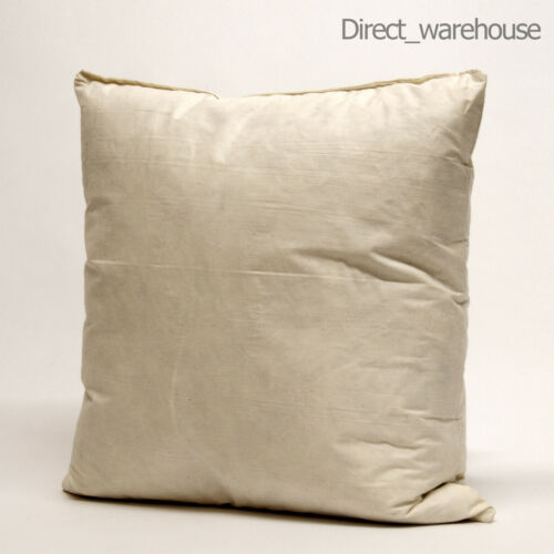 "Cushion Pad Duck Feather /& Hollowfibre Microfibre 22/"" x 22/"" inches 55cm x 55cm"