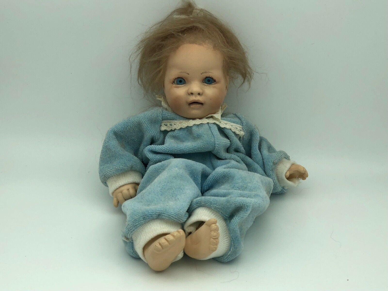 Dolls & Bears Zapf Puppe Vinyl Puppe 44 Cm Top Zustand