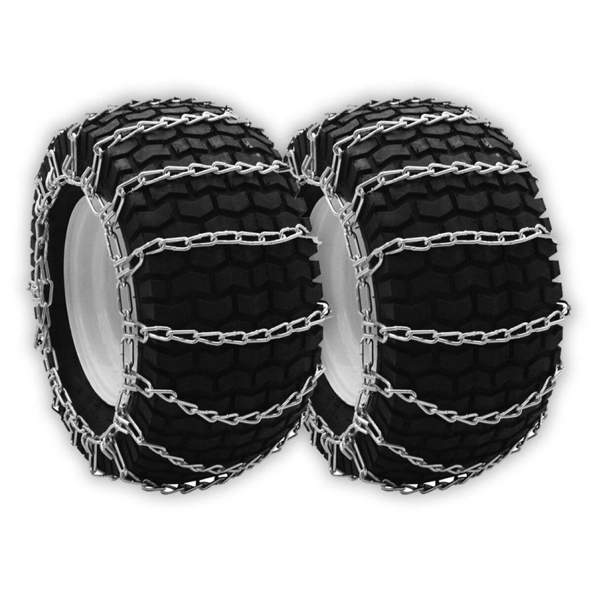 Cadenas del neumático OPD (juego de 2) 23x10.50-12 23x10.50x12 2-link Con Tensores