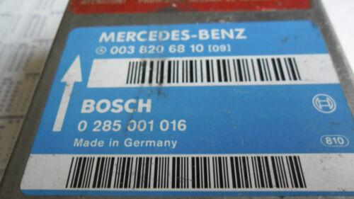 Mercedes-r129-Stgt-écrase//0038206810//0285001016//