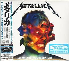 METALLICA-HARDWIRED...TO SELF-DESTRUCT-JAPAN 2 SHM-CD G35