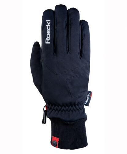 Roeckl Kusia unisex Handschuhe warm durch Fleece innen weich winddicht Gr 6,5-11 Bekleidung Handschuhe