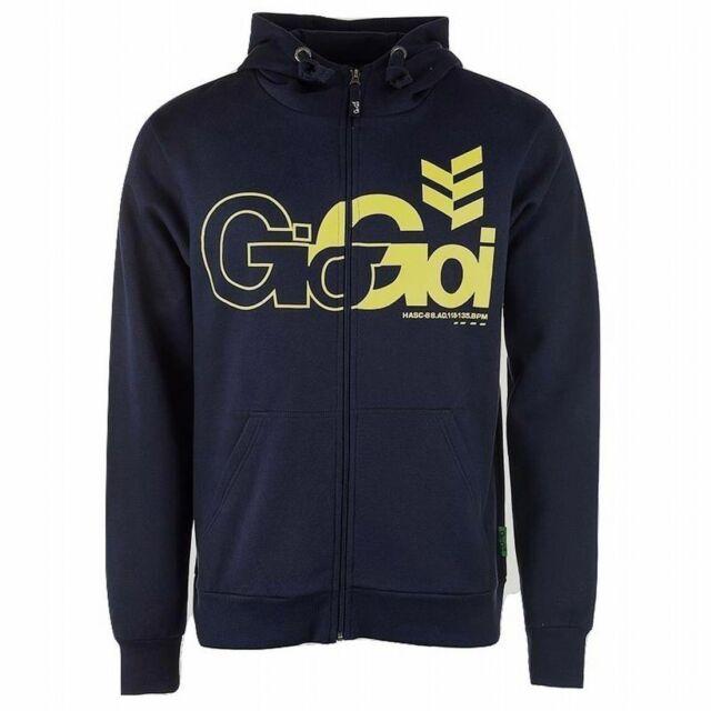 Gio Goi Men's Lancer Full Zip Hoody Hoodie Navy