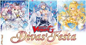 Cardfight Vanguard: Divas' Festa - G-CB07 - Common Card Singles