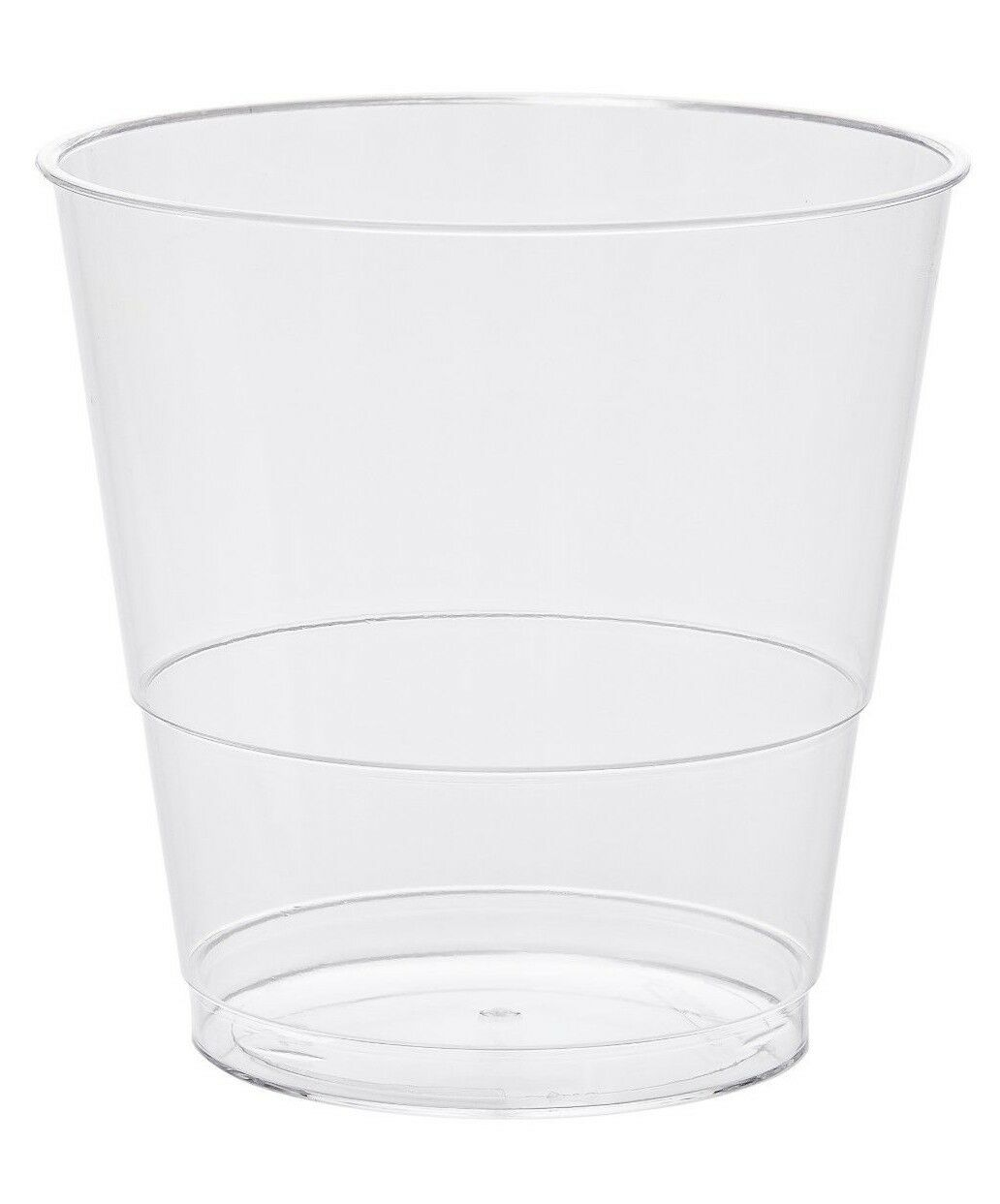 8oz 22cl Clear Disposable Hard Plastic Tumblers Cups - Party, Drinks, Desserts