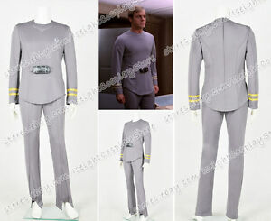 Star TrekⅠThe Motion Picture Commander Decker Cosplay Costume Halloween Uniform
