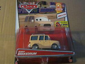 Disney Pixar Cars Deluxe Benny BRAKEDRUM Mattel 2015