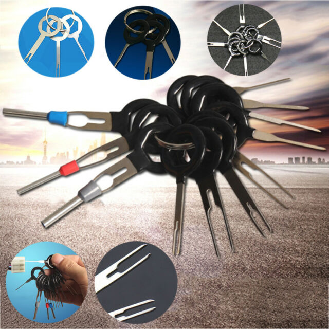 11pcs car plug circuit board wire harness terminal pick connector rh ebay com  wiring harness pin extractor tool