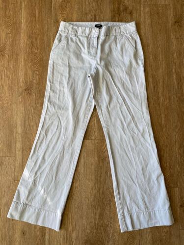 J Crew Favorite Fit Cotton Trouser Sky Blue Women
