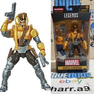 Marvel Legends Blue Deadpool Strong Guy Baf In Stock Dinged Box
