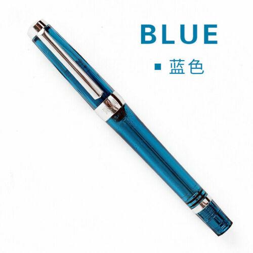 Wing Sung 3013 Paili 013 Staubsauger-Füllfederhalter transparent EF//FNib Ink Pen