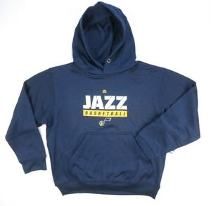 NEW-BOYS-NBA-MAJESTIC-NAVY-BLUE-UTAH-JAZZ-HOODED-SWEATSHIRT-SWEATER