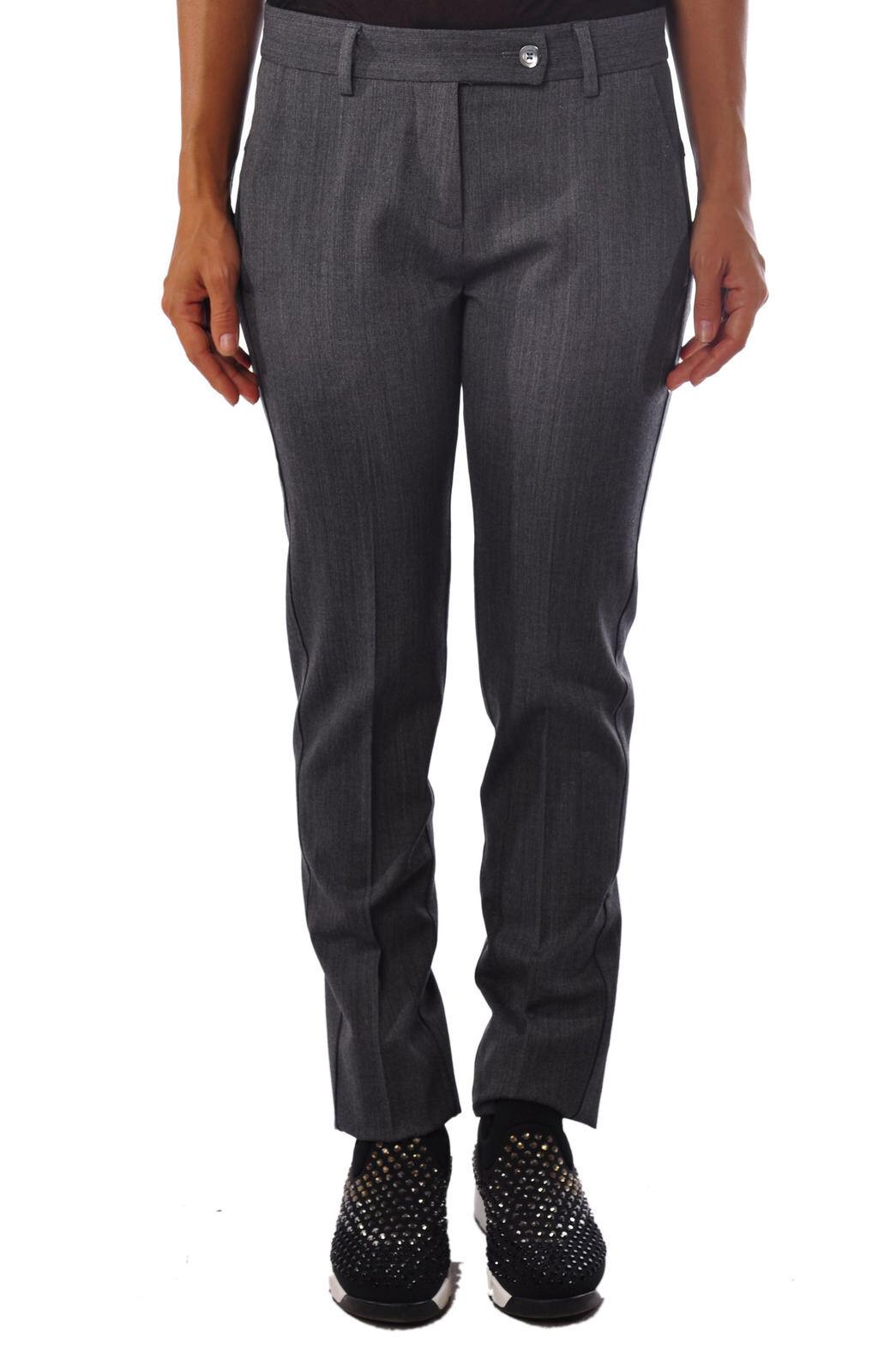 Meme - Pants-Pants - Woman - Grey - 915118C181501