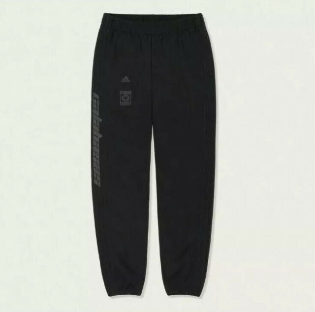 adidas Calabasas Yeezy Track Pants Medium M Black Cv8357 100 Authentic