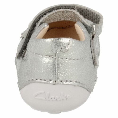 Mia Girls First H Cruisers Little Silver Fittings G Leather Shoe Clarks BHERqww