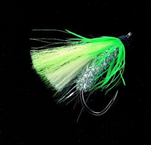 grün silber 7731-003 Jenzi Dega Big Fly Dorschfliege
