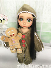 """Disney Baby doll clothes gingerbread clothing Animator's collection Princess 16"""""""