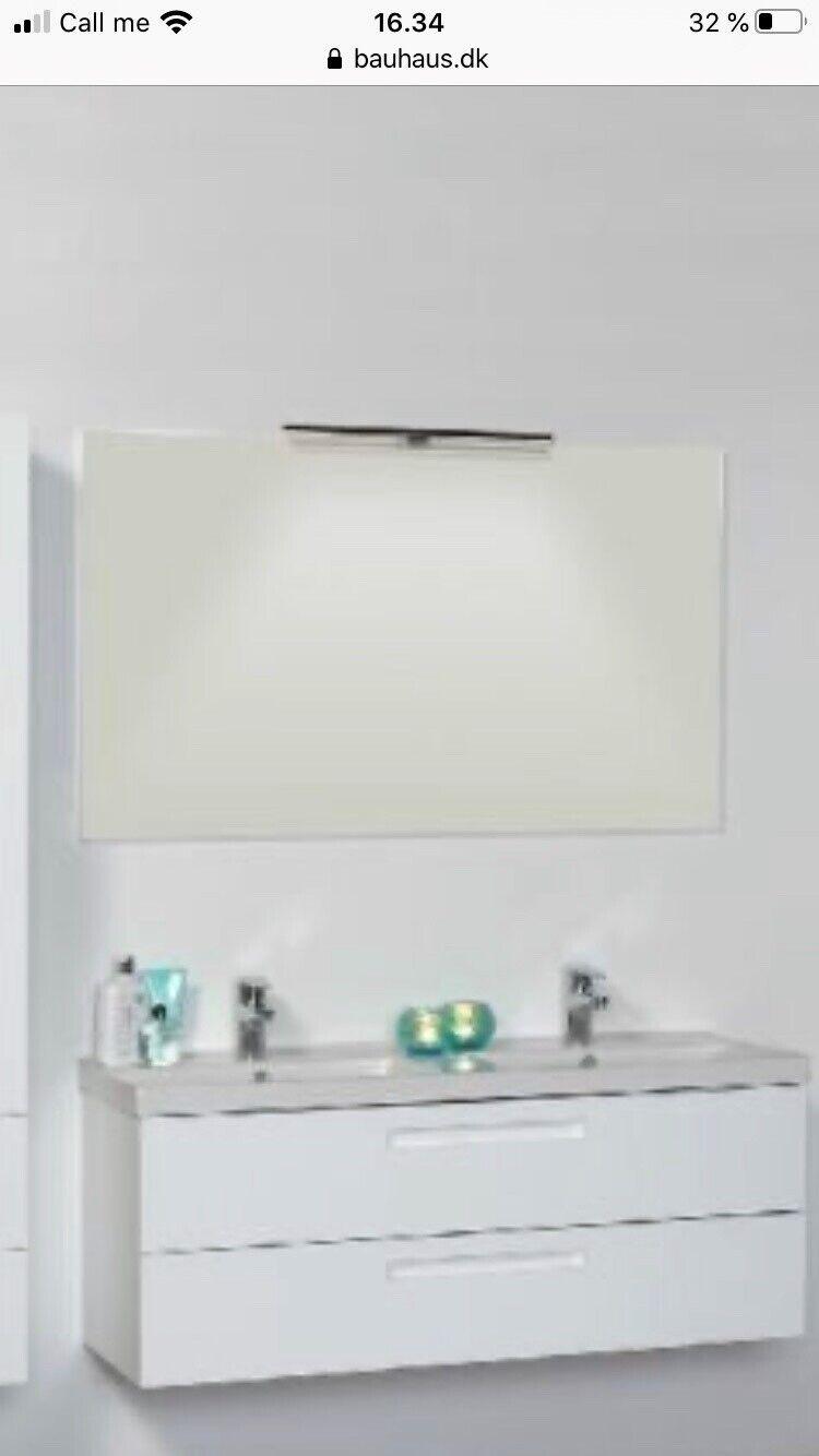 Picture of: Handvask Og Spejl Ndash Dba Dk Ndash Kob Og Salg Af Nyt Og Brugt