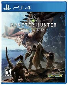 Details about MONSTER HUNTER WORLD PS4 NEW! WORLD EPIC JOURNEY, MYSTERY  DANGER, DRAGON, HUNT 0