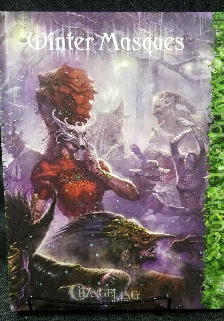 Winter Masques Changeling The Lost World Of Darkness  RPG Book