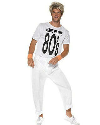 Made In The 80S George Michael Mens Costume