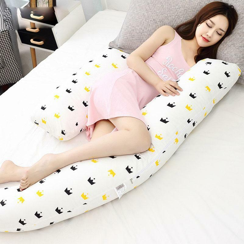 Pure Cotton Adjustable Pregnant Women Side Sleepers Comfortable Body Pillow