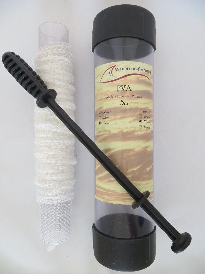 34 piezas, kit de PVA set Mesh bags tape tape tape String carpas boilies anfüttern  garantizado