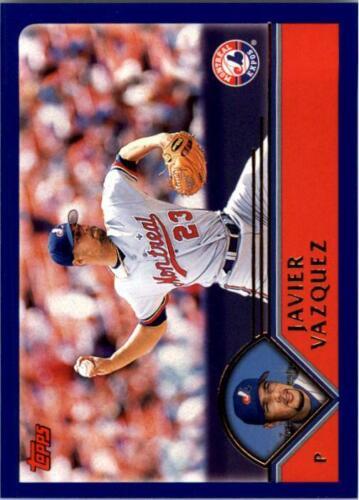 2003 Topps Baseball Base Singles #303-405 Pick Your Cards
