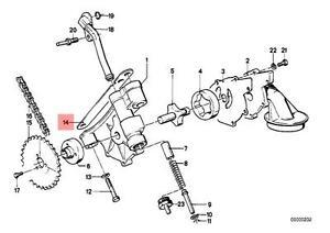 BMW 1600 1602 2002 2002tii 320i 318i M3 Genuine Bmw Oil Pump Shim 0.1 mm