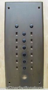 old brass elevator panel architectural building hardware up down b g