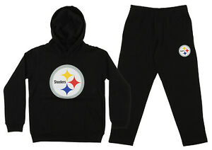 f6c15669 Details about Outerstuff NFL Youth Pittsburgh Steelers Team Fleece Hoodie  and Pant Set