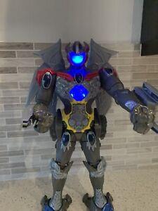"Power Rangers 2017 MEGAZORD 17"" Action Figure With 3 Mini Rangers. Interactive."