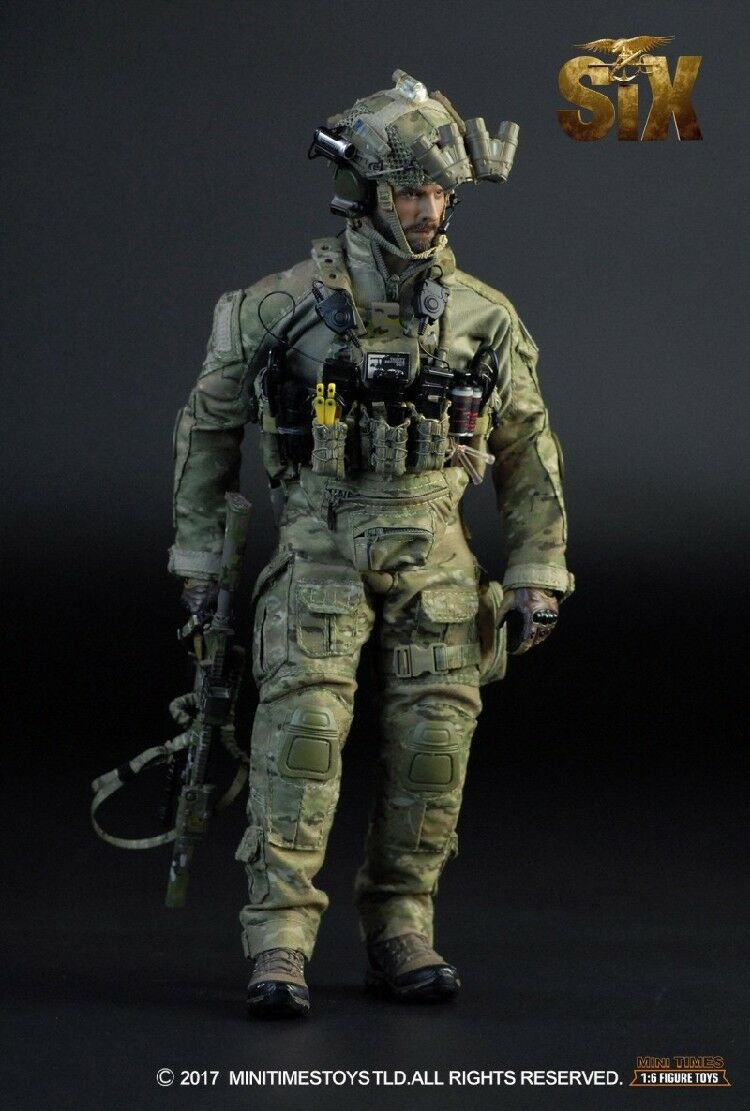 Mini Times Toys Marina Us Seal Team Sei Devgru Richard Strappare Taggart 1/6