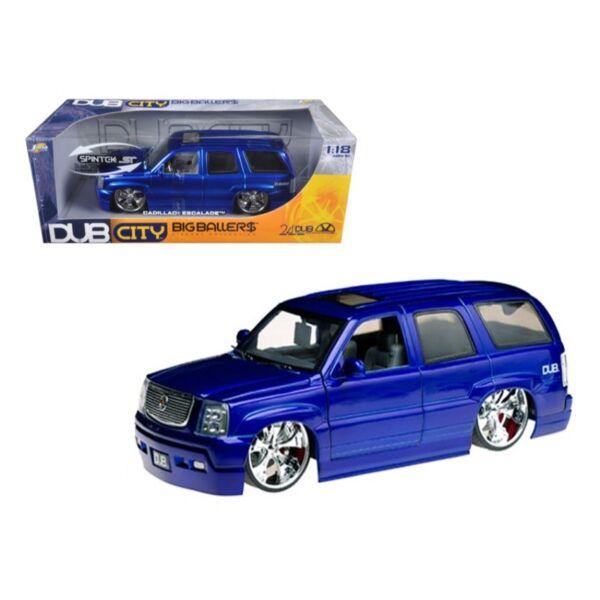 Jada Toys 1 18 Dub City 2002 Cadillac Escalade For Sale