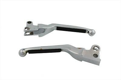 Harley, 82-95 New chrome brake and clutch softee style  lever Set all models