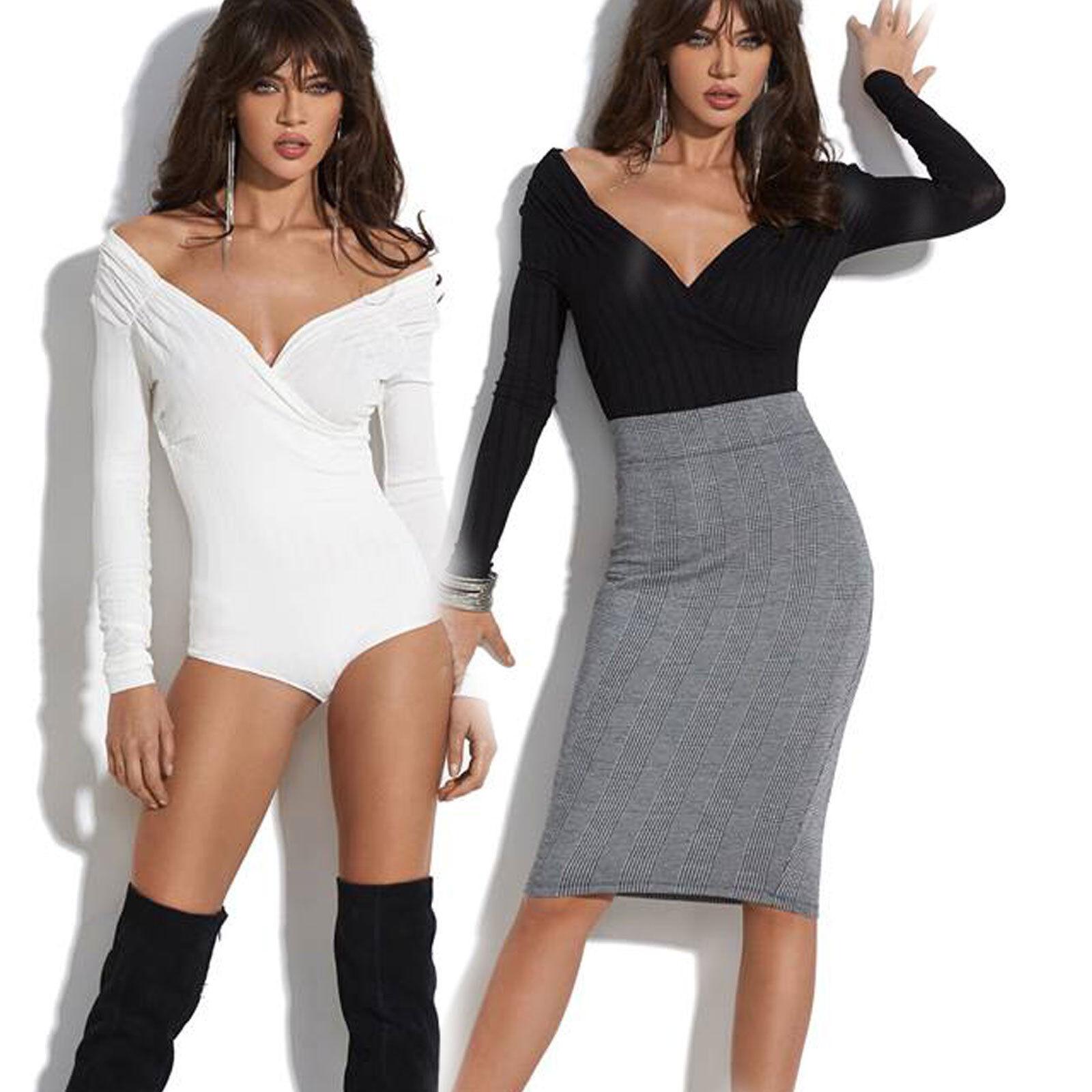 By Alina Damenbody Bodies Body Top Shirt Oberteil Blause Pullover Damentop XS S M | Online-verkauf  | Authentische Garantie  | Clearance Sale  | Am wirtschaftlichsten  | Neu