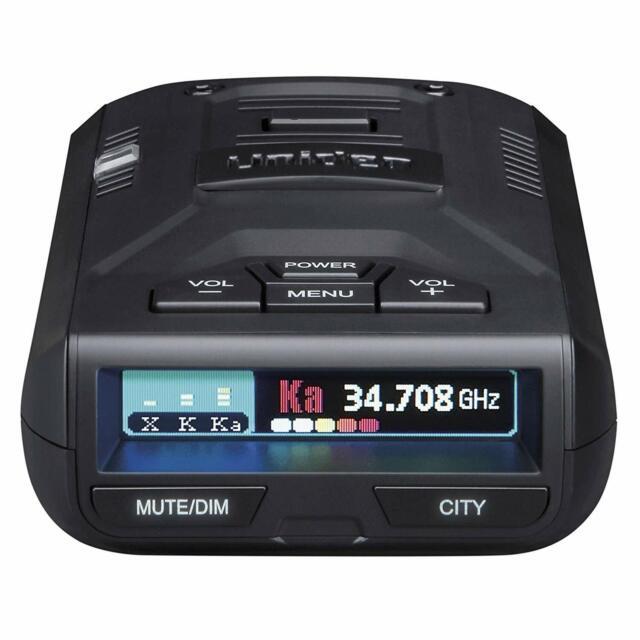 Uniden R1 DSP Ext Long Range 360 Deg Radar/Laser Detector w/ Voice Alert-Refurb