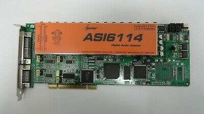 1A5.21.KS AudioScience model ASI6114 Digital Audio Adapter