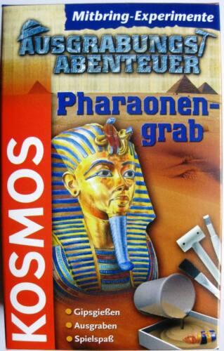 Kosmos Ausgrabungs Abenteuer Pharaonengrab  Neu & OVP Lernspielzeug