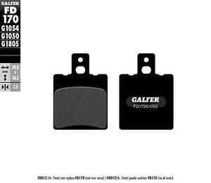 GALFER-PASTIGLIE-FRENO-POSTERIORE-APRILIA-RS-125-REPLICA-1992-gt-2005-FD170